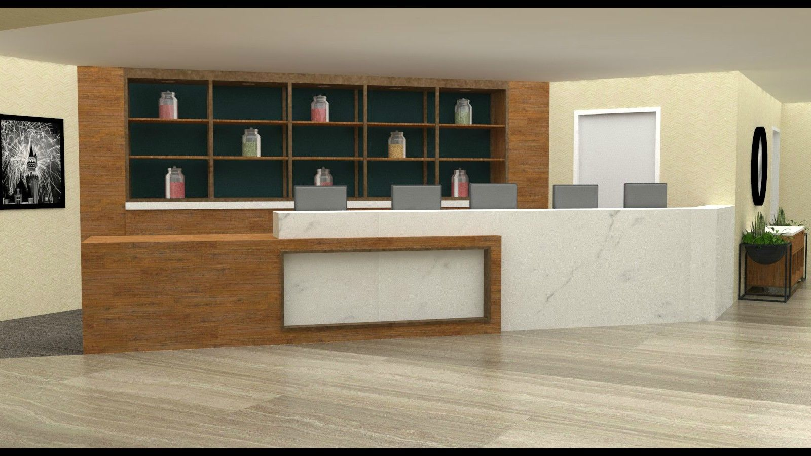Hotel Ménage - Front Desk Conversion